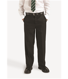 BLUEMAX FALMOUTH FLAT FRONT TROUSER