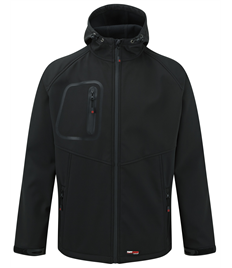 TUFFSTUFF HERTFORD HOODED SOFTSHELL JACKET