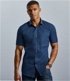 Russell Collection Ultimate Short Sleeve Stretch Shirt