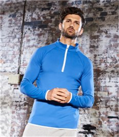 AWDis Cool Half Zip Sweat Top