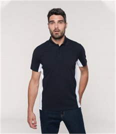 Kariban Flag Poly/Cotton Piqué Polo Shirt