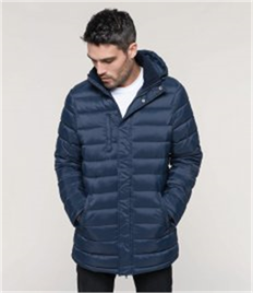 Kariban Lightweight Long Padded Parka Jacket