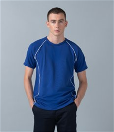 Finden and Hales Piped Performance T-Shirt