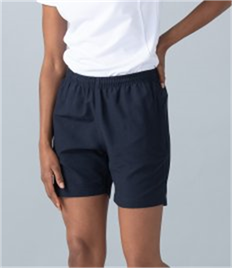 Finden & Hales Ladies Microfibre Shorts