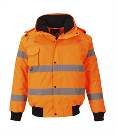 Portwest Hi-Vis 3 in 1 Bomber Jacket
