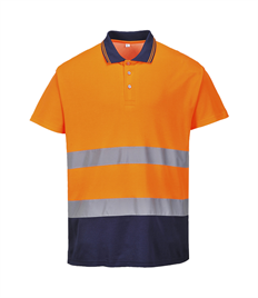 Portwest 2-Tone Cotton Comfort Polo