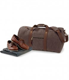 Quadra Vintage Canvas Holdall