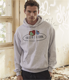 Fruit of the Loom Vintage Large Logo Hoodie