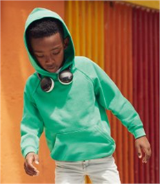 Fruit of the Loom Kids Lightweight Hooded Sweatshirt