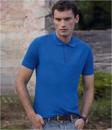 Fruit of the Loom Tailored Poly/Cotton Piqué Polo Shirt