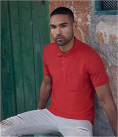 Fruit of the Loom Pocket Piqué Polo Shirt