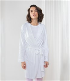 Towel City Ladies Cotton Wrap Robe