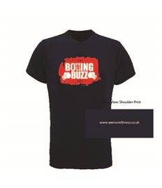 See More Fitness Boxing Buzz Printed Performance Tee
