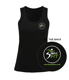 Simply Fit Women's TriDri® panelled fitness vest