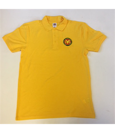 SYG Explorers Leaders Yellow Polo Shirt with Embroidered Logo