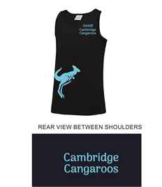 Cambridge Cangaroos Boys Training Vest