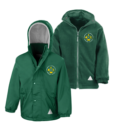 Junior Reversible StormDri 4000 jacket with Warboys Community School embroidered