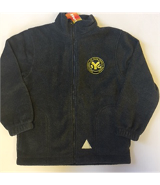 SYG Explorers Children's Grey Fleece with embroidered logo