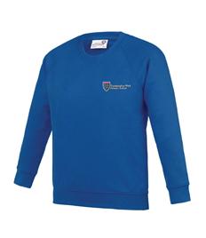 80% Cotton Royal Blue Sweatshirt