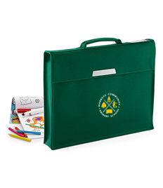 Academy book bag with Warboys Community School embroidered