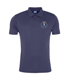 DSA UK French Navy Cool Smooth Polo