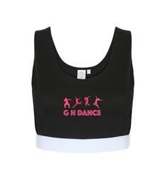 Gail Henry School of Dance Women's Fashion Crop Top