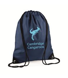 Cambridge Cangaroos Drawstring Bag