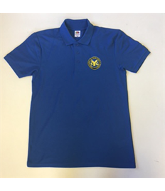 SYG Juniors (Leaders) Royal Blue Polo Shirt with Embroidered Logo