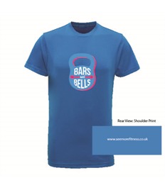 See More Fitness Bars And Bells Printed Unisex Performance Tee