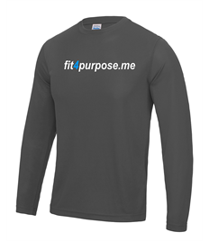 AWD Long sleeve cool T with Fit4Purpose printed full chest