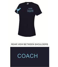 Cambridge Cangaroos Ladies Cool T-Shirt - COACH