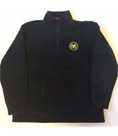 SYG Amecus Black Fleece with embroidered logo