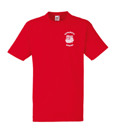 Houghton PE T-shirt with embroidered logo