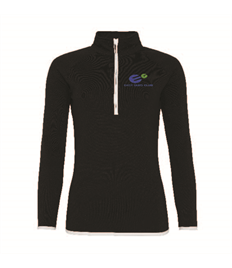 East Glos Club Members Ladies 1/2 Zip Sweatshirt