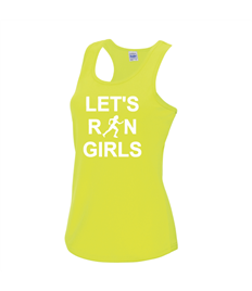 Let's Run Girls Cool Vest