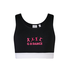 Gail Henry School of Dance Kids Fashion Crop Top