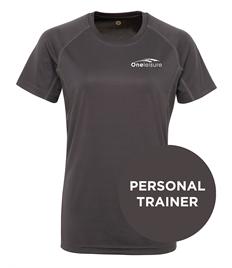 One Leisure PT Women's Tri Dri Panelled Tech T-Shirt