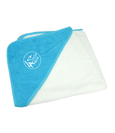 Little Aqua Baby Hooded Towel