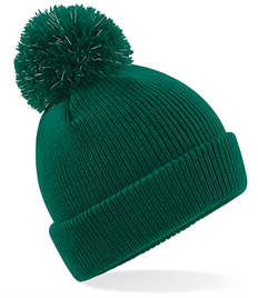 JUNIOR REFLECTIVE BOBBLE HAT IN WARBOYS GREEN