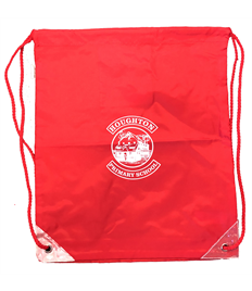 Houghton PE Bag with printed Logo