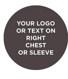 Personalisation with own text or logo