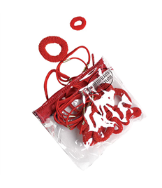 Red Ponytail Bags