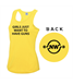 """NW Fitness Woman's Cool Vest """"Girls just want to have guns"""""""