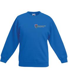 Royal Blue Raglan Sweatshirt