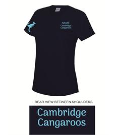 Cambridge Cangaroos Ladies Cool T