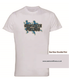 See More Fitness Printed Performance Tee