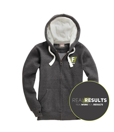 Realfit Cotton Ridge Zip Hoodie