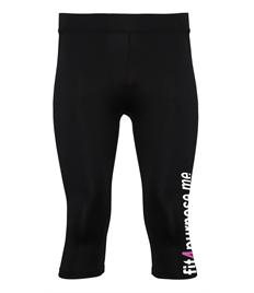Gamegear® ¾ length leggings with Fit4Purpose printed down left leg