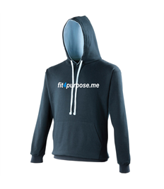 AWD Varsity hoodie with Fit4Purpose printed full chest