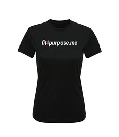 Women's TriDri® performance t-shirt with Fit4Purpose printed full chest